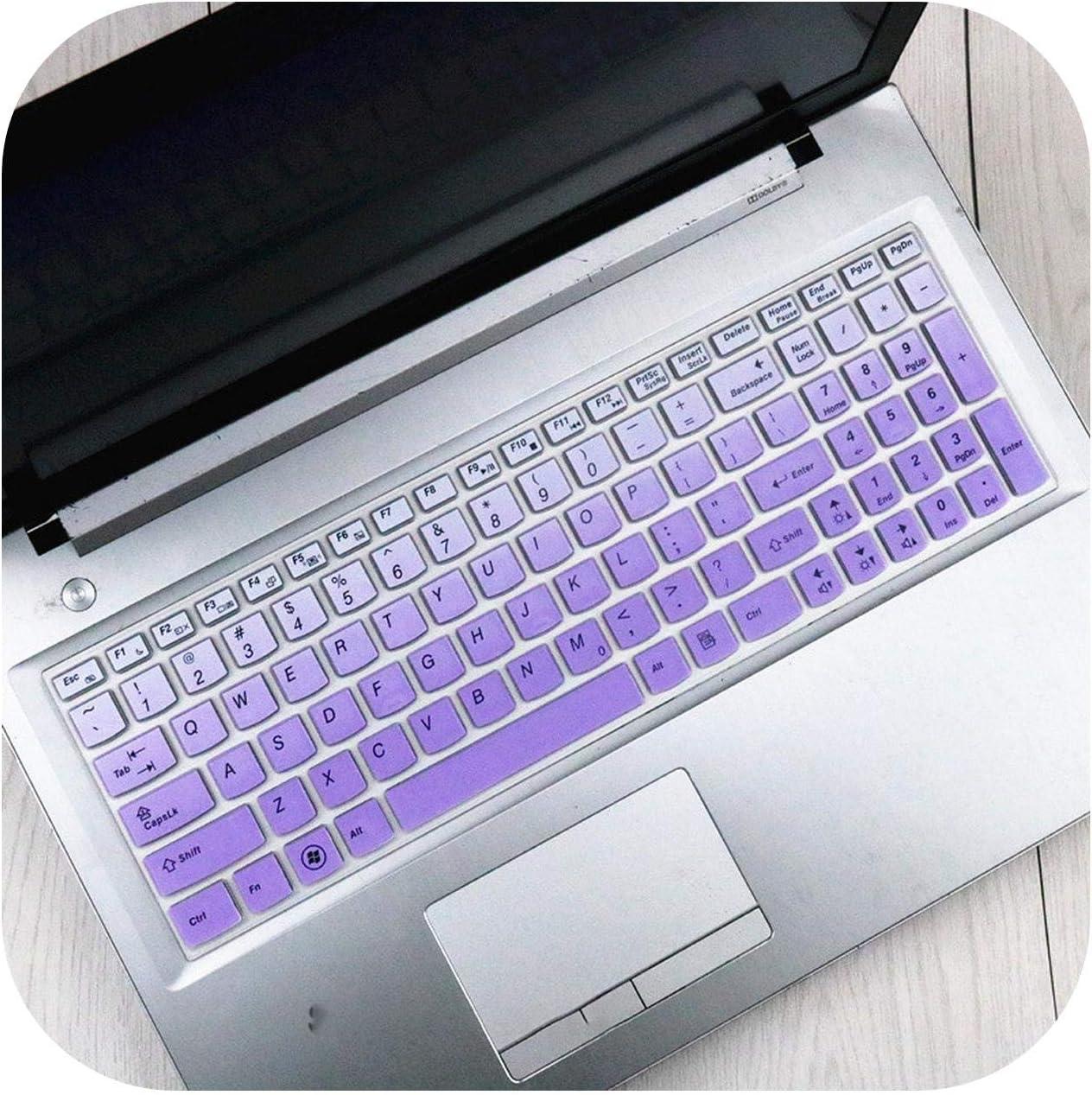 17.3 15.6 Inch Keyboard Protector Cover Skin for Lenovo Ideapad 700-15Isk Y700-15 Y700 700-15 Z510 Z50 G50-80 Y50-70 Y500-Gradualpurple