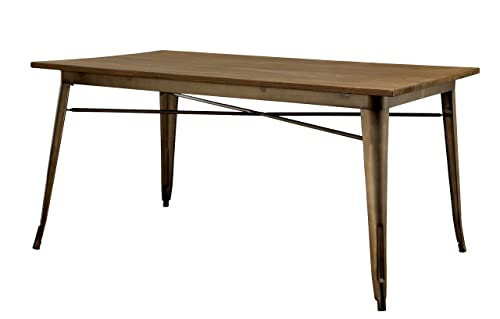 Furniture of America Cadiz Dining Table, Brown