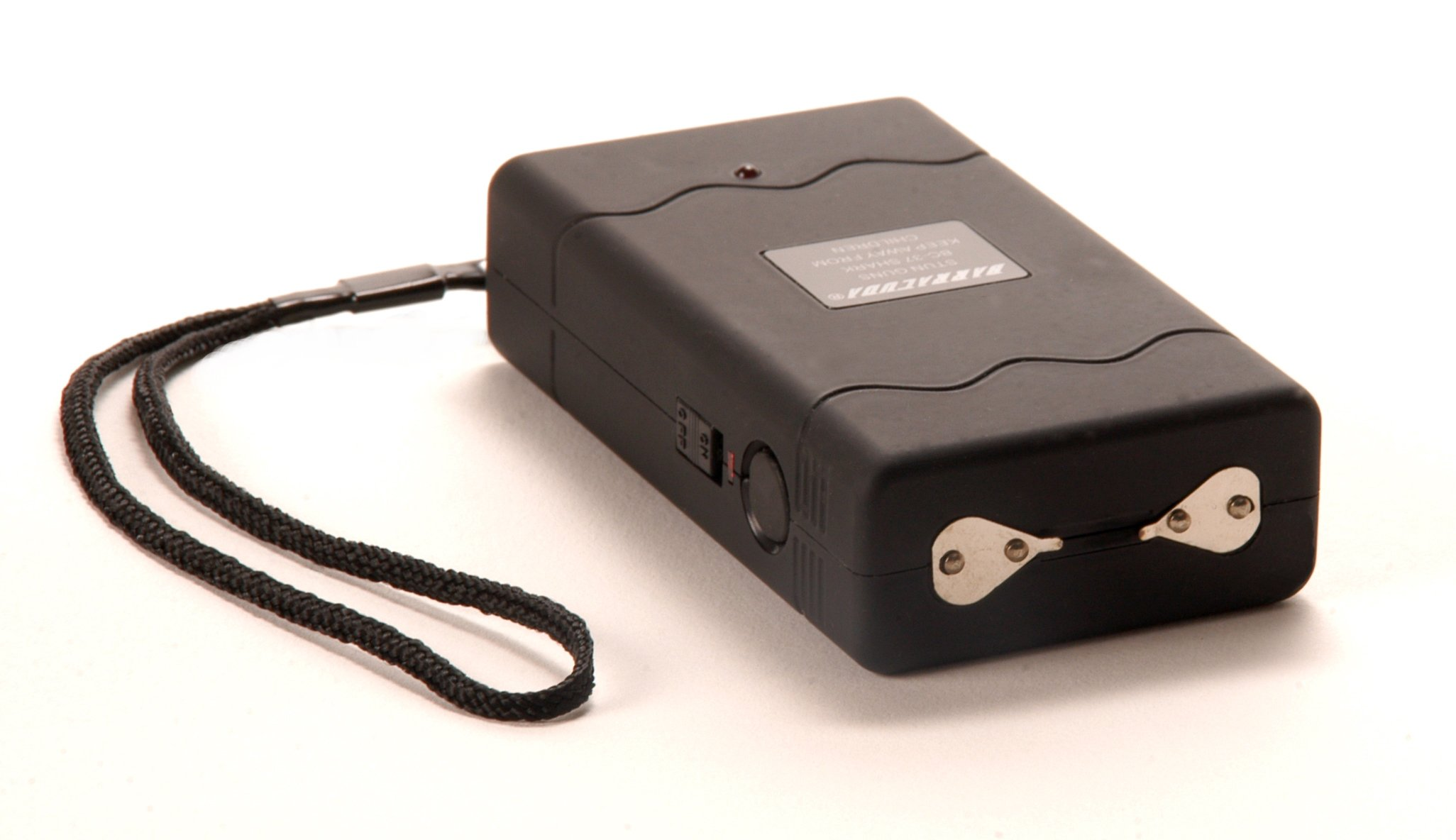 Barracuda BC-37 Shark Rechargeable Stun Gun with Safety/Disable Pin 3.7 Million