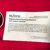 Nutone 0969b000 Ceiling Heater Heat Element Space