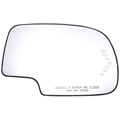 Silverado Gm Sierra 1500 2500 3500 03-07 Power Heated W Signal Mirror Glass Rh: Automotive