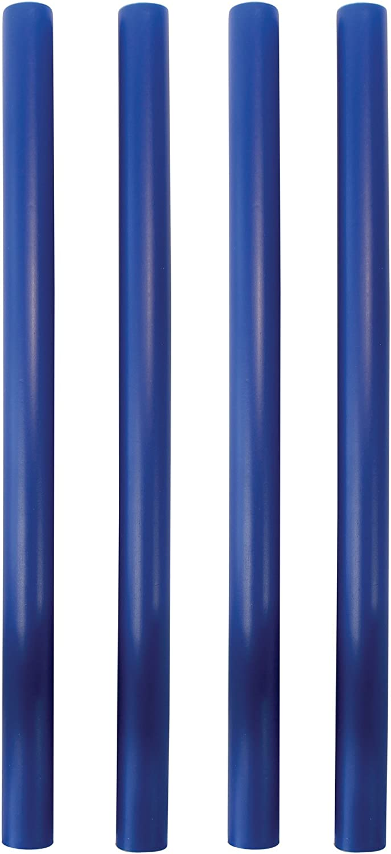 PME DR126 Lot de 4 Piliers Creux 2 x 2 x 31 cm Plastique Bleu