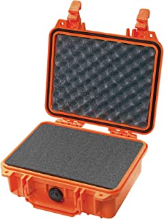 product image for Pelican 1200 Camera Case With Foam (Orange)