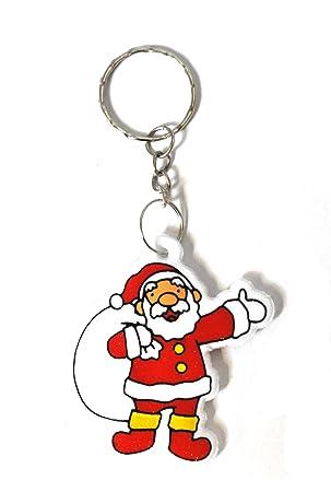 Father Christmas Keychain Xmas Keyring Santa Claus All Types