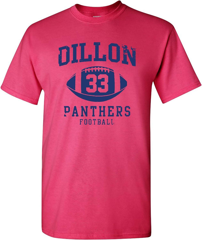 Dillon Football Retro Adult DT T-Shirt Tee
