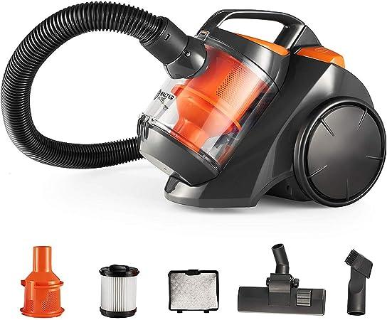 Balter Vento A1 aspirador – Aspiradora (filtro HEPA – Aspirador ciclónico sin bolsa ciclónico Incluye Accesorios Color Naranja: Amazon.es: Hogar
