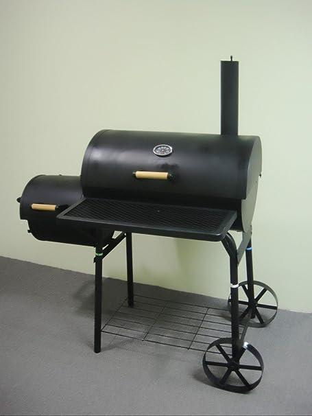 Smoker OGA032 - Barbacoa de carbón (aprox. 1, 5 mm, acero, 32 kg): Amazon.es: Jardín