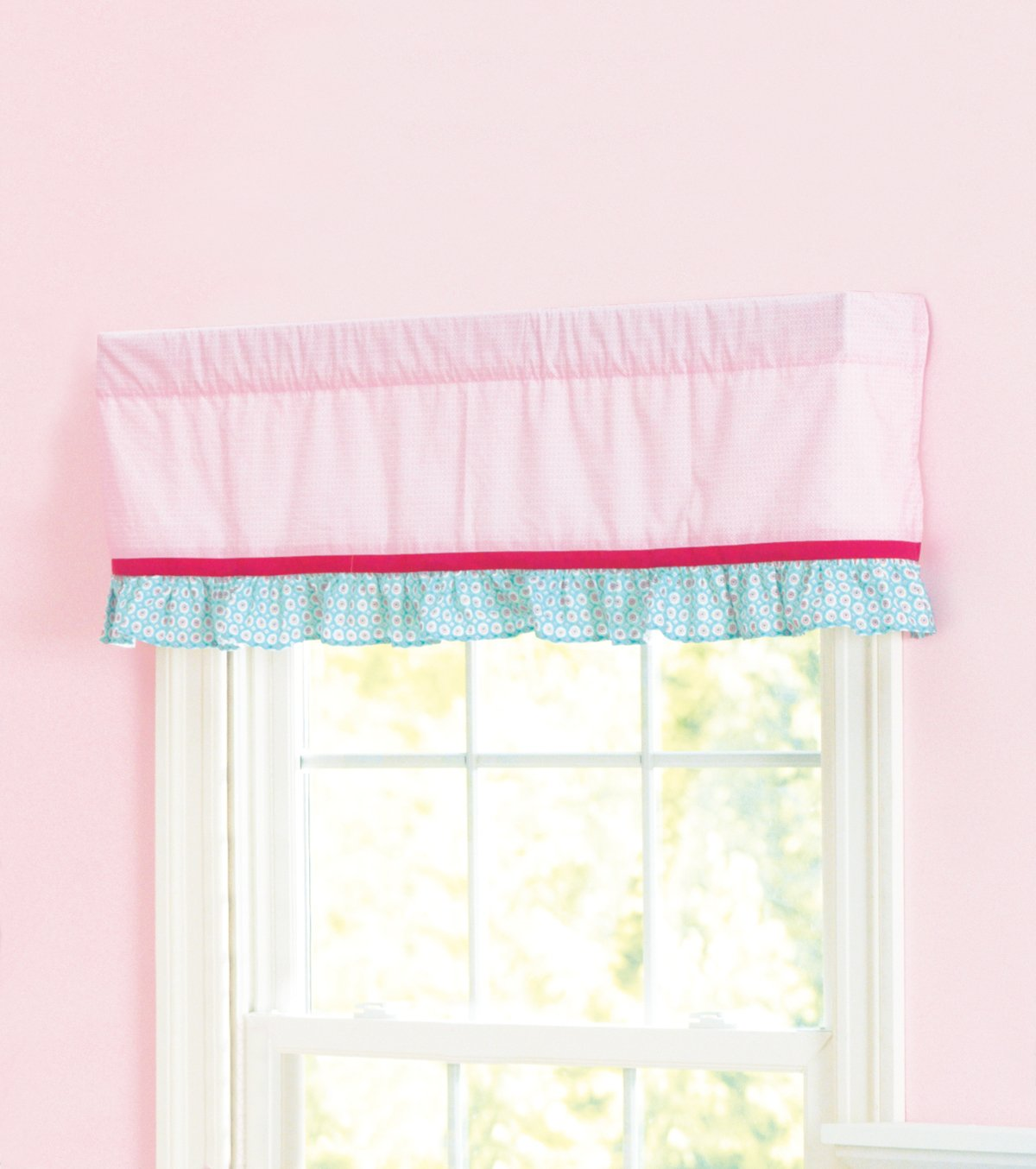 Summer Infant Window Valance, Who Loves You 66240