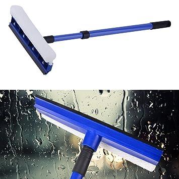 Kit de limpieza de ventanas, limpiador de limpiaparabrisas para coche, furgoneta, invernadero, parabrisas, ducha, azulejos, baño, limpiador de varillas: ...