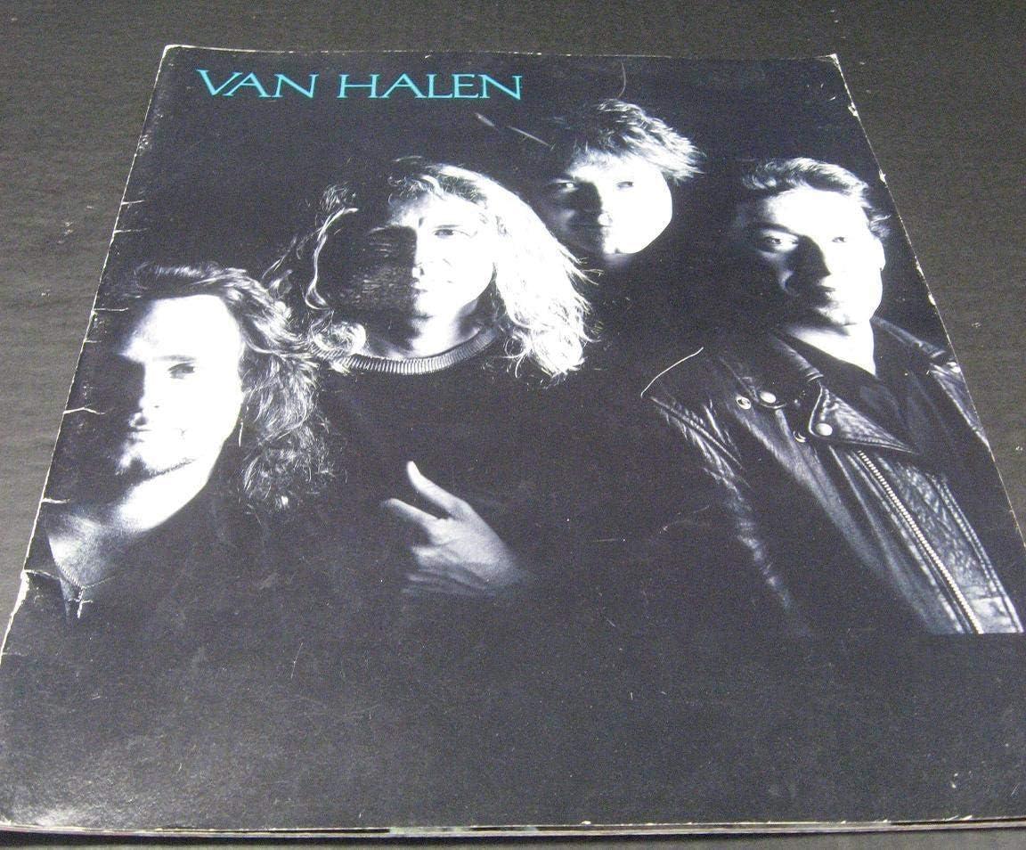 Van Halen Ou812 Tour Program Mbx24 At Amazon S Entertainment Collectibles Store