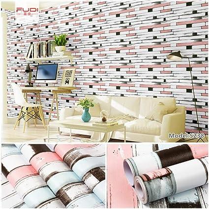 Papier Peint Auto Adhesif Chambre Brique Motif Fond Mur Impermeable Carrelage Mural De Simulation Papier Peint Auto Adhesif Amazon Fr Bricolage