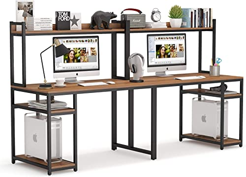 Best home office desk: Tribesigns 94.5 inches Computer Desk