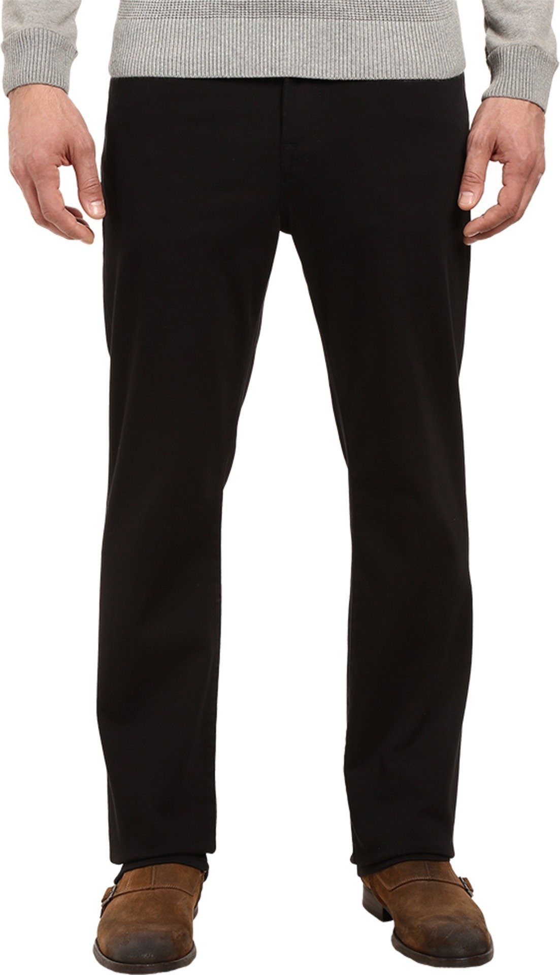 34 Heritage Men's Charisma Classic Fit Select Double in Black Black Pants