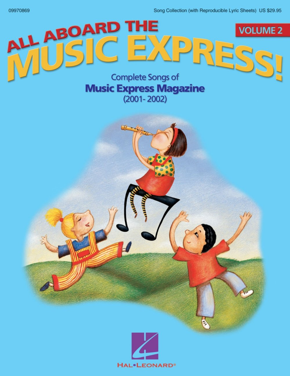 Hal Leonard All Aboard the Music Express Vol. 2 (Complete Songs of Music Express Magazine 2001-2002) ShowTrax CD pdf