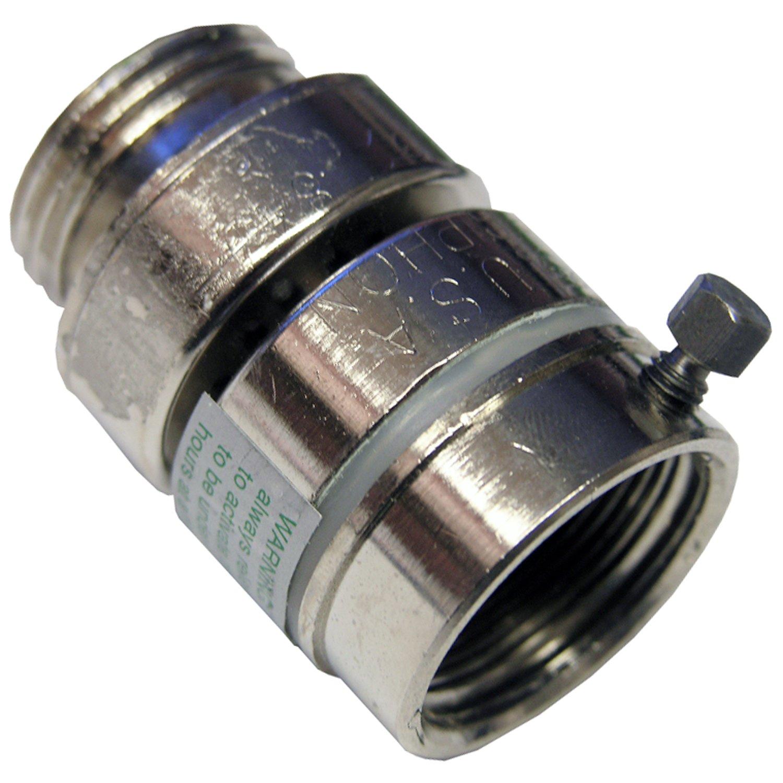 Lasco 05 1771 Self Draining Vacuum Breaker With Fine Thread For