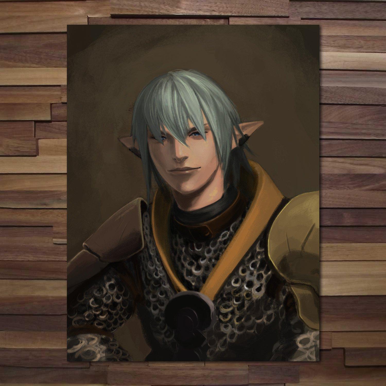 Printing Pira - Final Fantasy XIV Online Haurchefant Greystone Poster  (18x24)