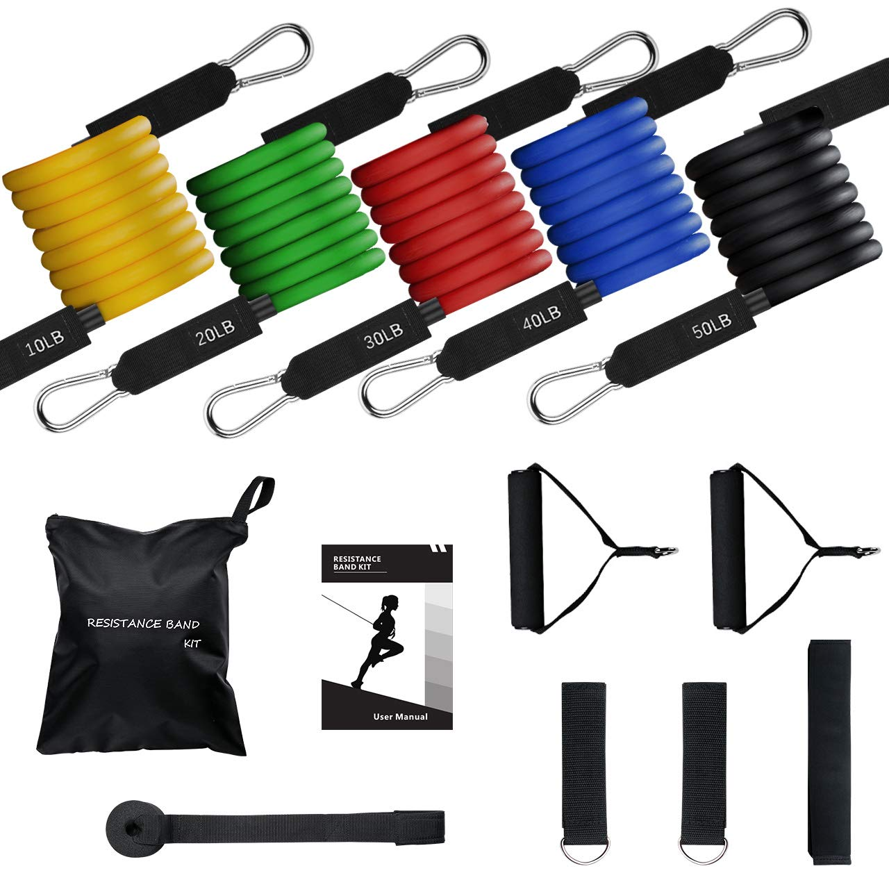 Exercise Resistance Bands Set 04ae3c2f12