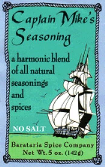 Amazon com : Captain Mike's No Salt Louisiana Seasoning, 5 Ounce