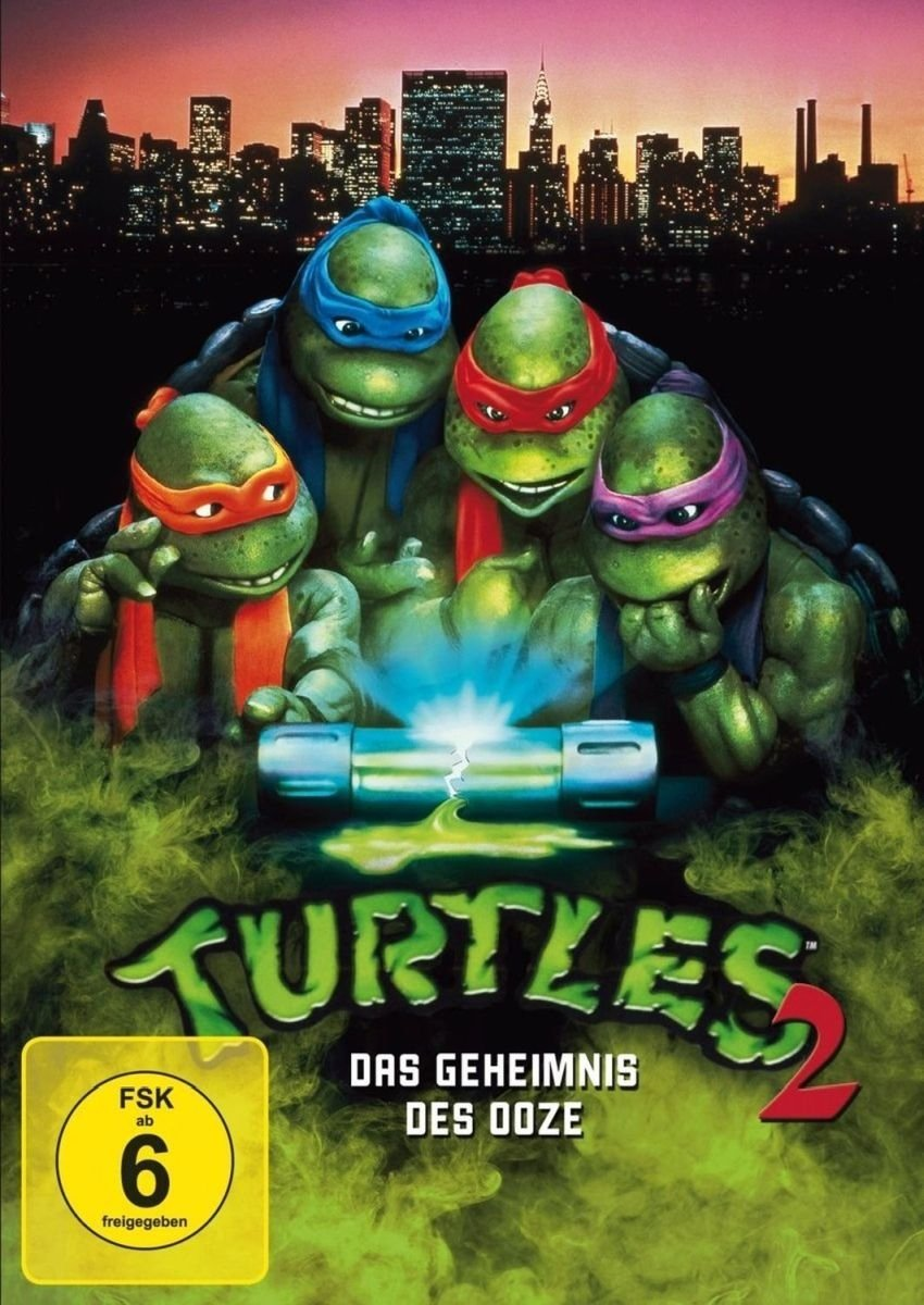 Turtles 2 - Das Geheimnis der Ooze [Alemania] [DVD]: Amazon ...