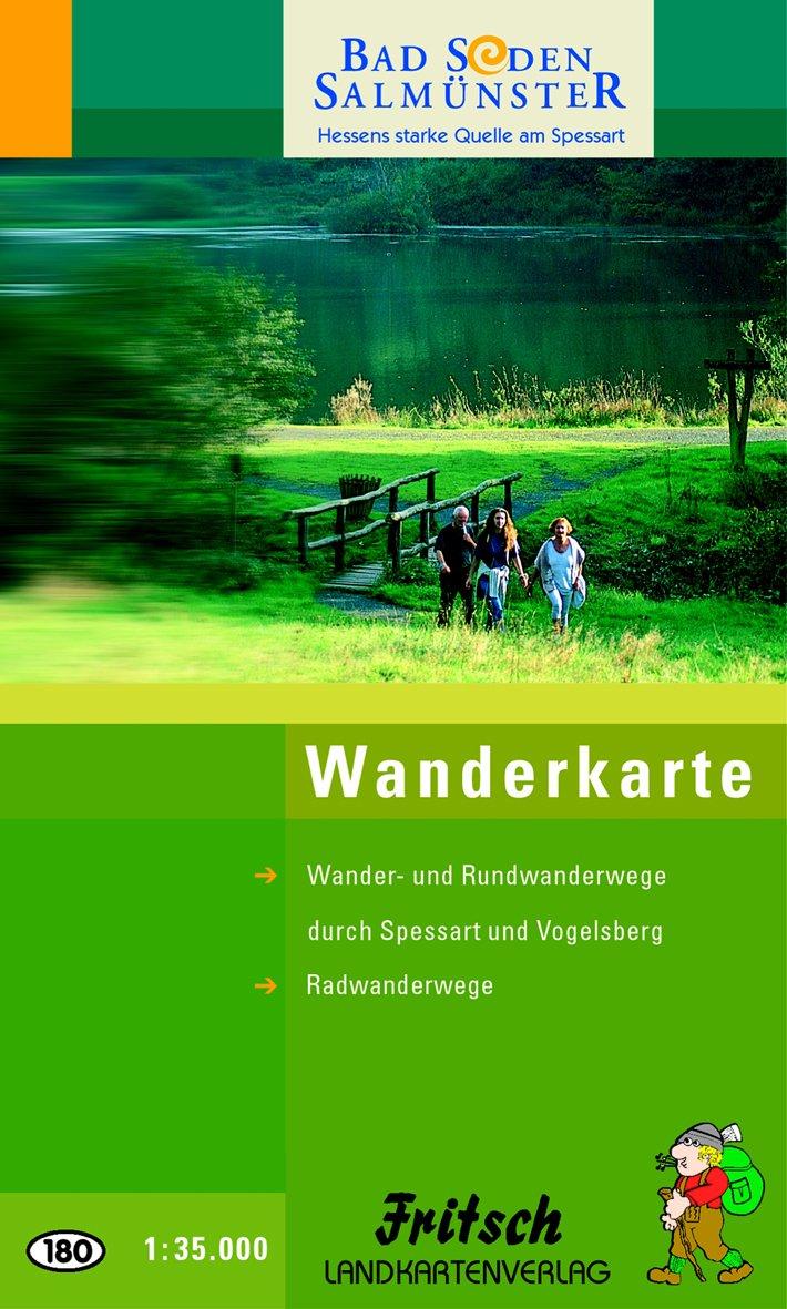 Bad Orb - Bad Soden-Salmünster: Wander- und Rundwanderwege durch Spessart und Vogelsberg. Radwanderwege