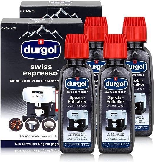 Durgol swiss Espresso Descalcificador Especial para Todas Las ...