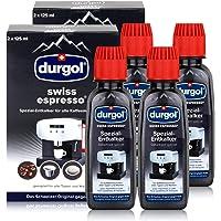 Durgol Swiss Espresso - speciale ontkalker - koffiezetapparaten, 4x125ml (4 stuks)