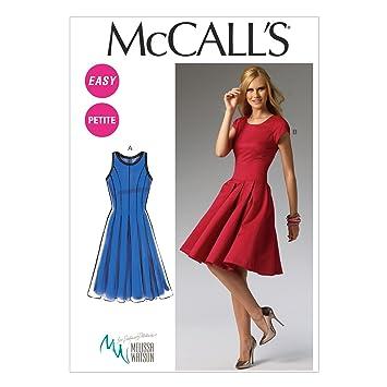 McCalls MC 6834 A5 (6-8-10-12-14) Schnittmuster zum Nähen, Elegant ...