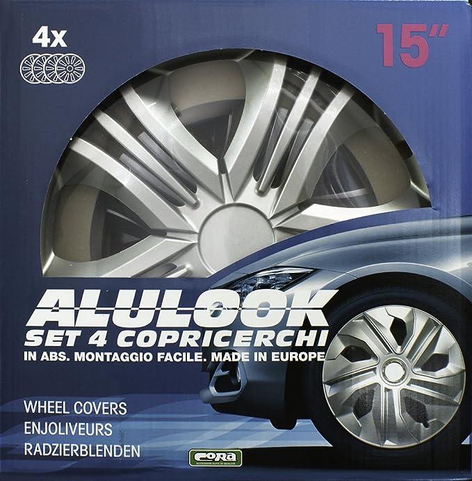 40,6/cm Cora 40946 Box 4 Alulook Fun Enjoliveurs 16 pouces