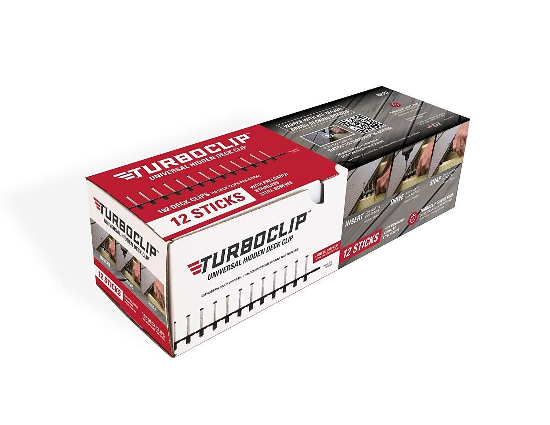TurboClip 89192 Hidden Composite Decking Fastener (192 count)