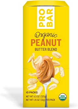 10-Pack Probar Organic Peanut Butter