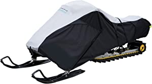 Classic Accessories 71837 SledGear Deluxe Snowmobile Travel Cover, Large,Black,Snowmobiles 101
