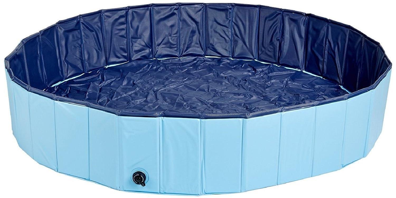 petcomer Faltbare Hundebox zersetzung Schwimmbad Badewanne gas-filled PVC Baden Badewanne
