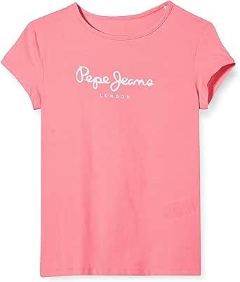 Pepe Jeans Hana Glitter SS Camiseta para Niñas