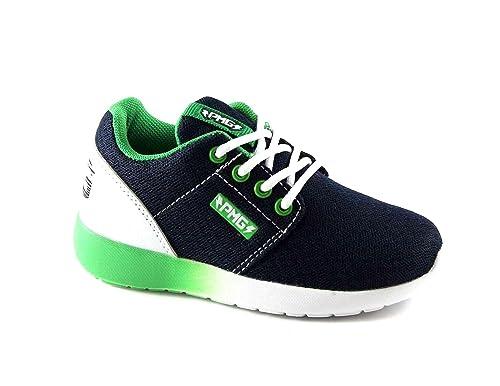 Sneakers blu con stringhe Primigi QpmBYOfX