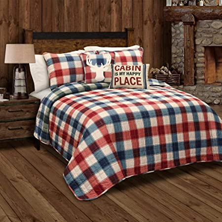5 piezas rojo cabina tema colcha para cama de matrimonio