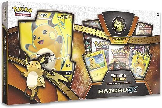 PoKéMoN Caja Especial de coleccionista Raichu Gx (POK80363): Amazon.es: Juguetes y juegos