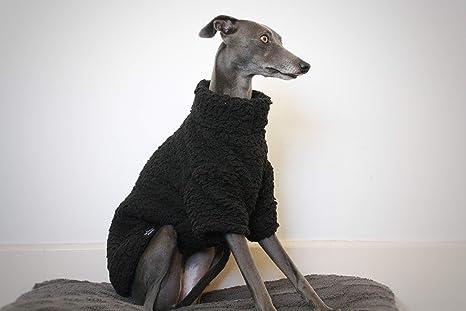The Trendy Whippet Saluki Sighthound - Pijama de Forro Polar, diseño de Galgo, Color
