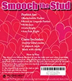 Smooch The Stud Bachelorette Party Game & Temporary Tattoo Combo Pack | Double Sided Poster, Mask & 12 Smooch Cards | Ideal for Bachelorette & Bridal Parties, Lingerie Parties