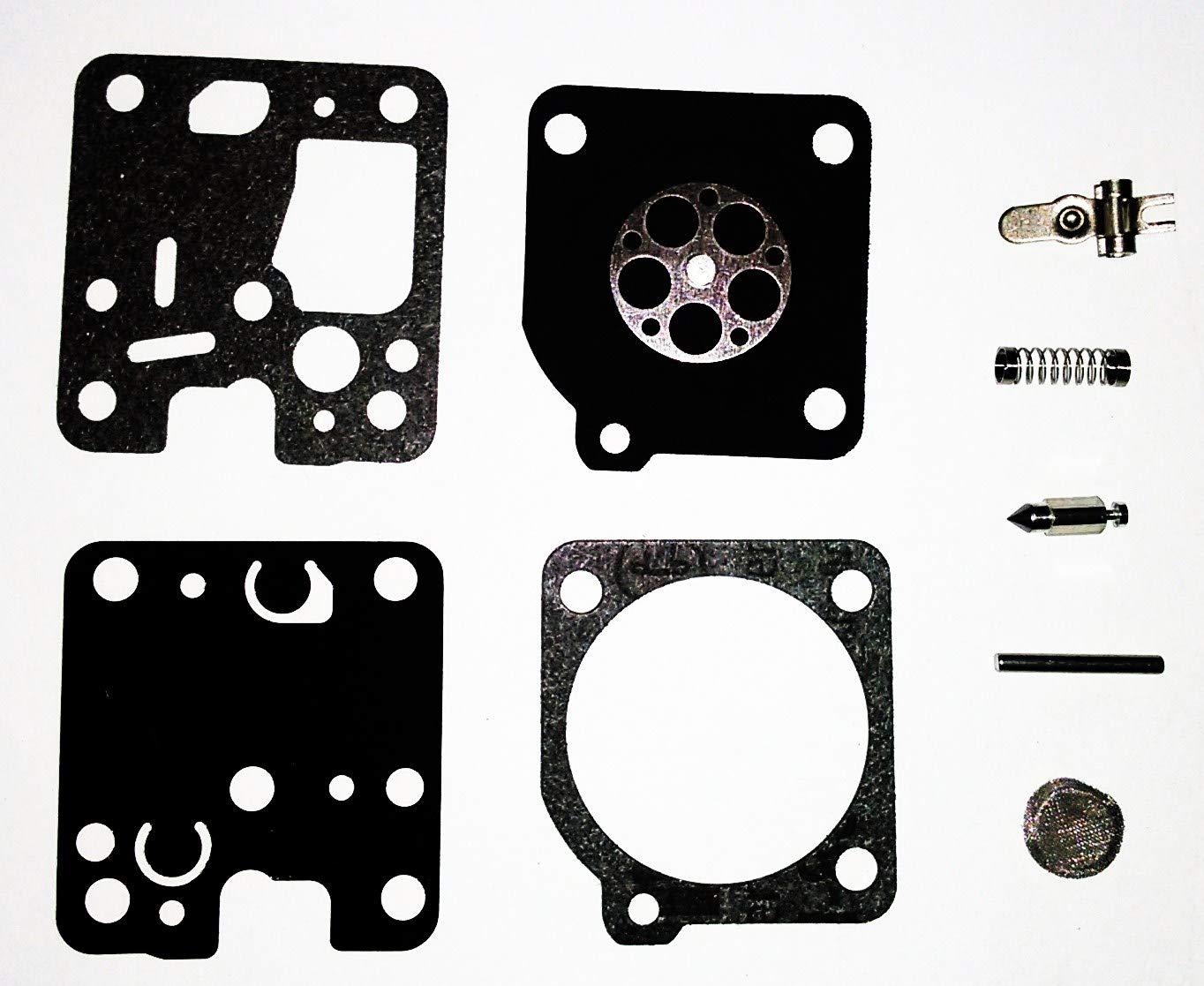 CTS ZAMA RB-123 RB123 Carburetor Repair KIT RB-K75 RB-K85 RB-K86 RB-K93