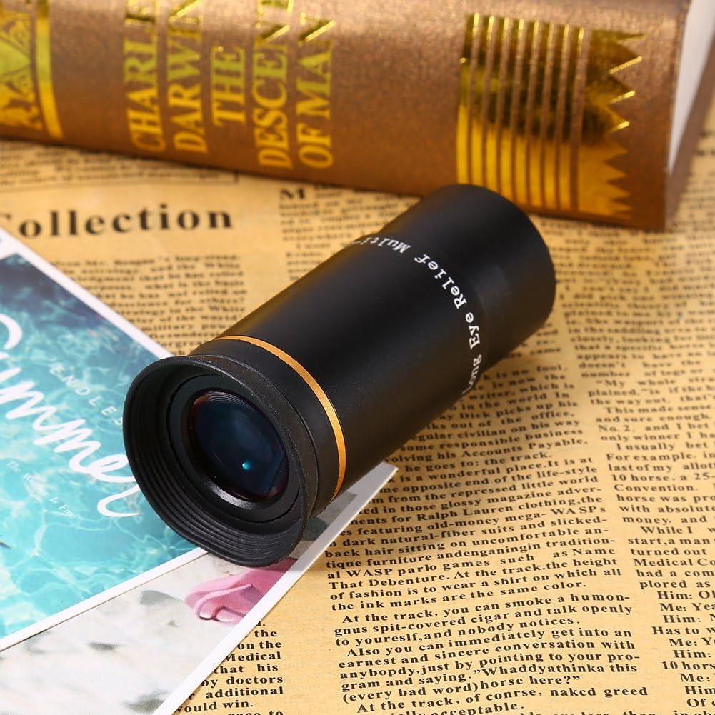 Tosuny Oculaire//lentille de t/élescope Ultra Large de 6mm 1.25inch Filet/é pour Accepter Les filtres Standard de 1,25 Pouce Enti/èrement Multicouche Champ Apparent Large de 66 degr/és