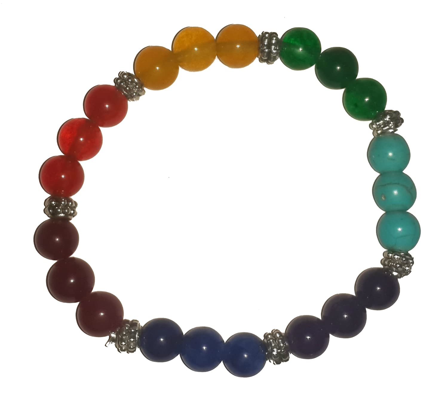Amazon.com: IndianStore4All Combo Two Typ Of Bracelet 8 mm ...