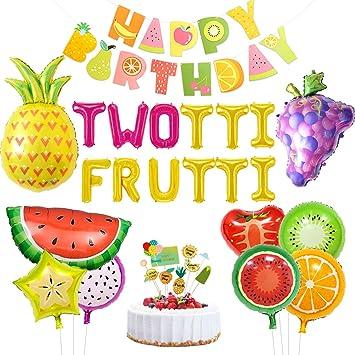 Kreatwow Twotti con Sabor a Fruta Decoraciones de cumpleaños ...