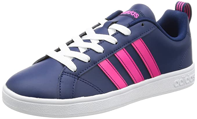 adidas Vs Advantage W - Damen Sportschuhe, Blau – (Azumis/Rosimp/Ftwbla) 42