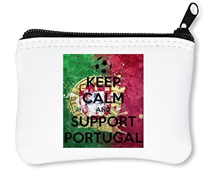 Euro 2016 Keep Calm Support Portugal Billetera con ...