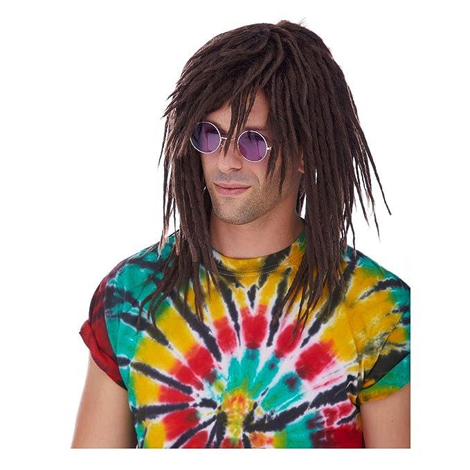 Amazon.com: De los hombres Dreadlocks Surfer peluca, talla ...