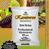 10 Ltr. Karnivoren-Erde Substrat für Fleischfressende Pflanzen - PROFI LINIE Nepenthes, Drosera, Dionaea Substrat Carnivoren