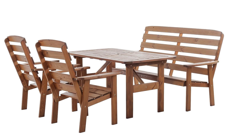 Trendy-Home24 4tlg. Gartenmöbel Set Hanko MAXI Sitzgruppe ...