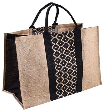 Bolsa para leña (yute plastificada: Amazon.es: Hogar