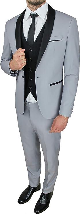 Evoga - Elegante Vestido para Hombre, Conjunto Completo con ...