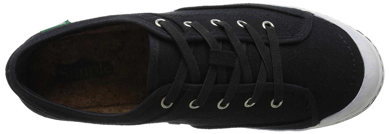 Simple Women's Satire Fashion Sneaker B019TEVE52 8 B(M) US|Black